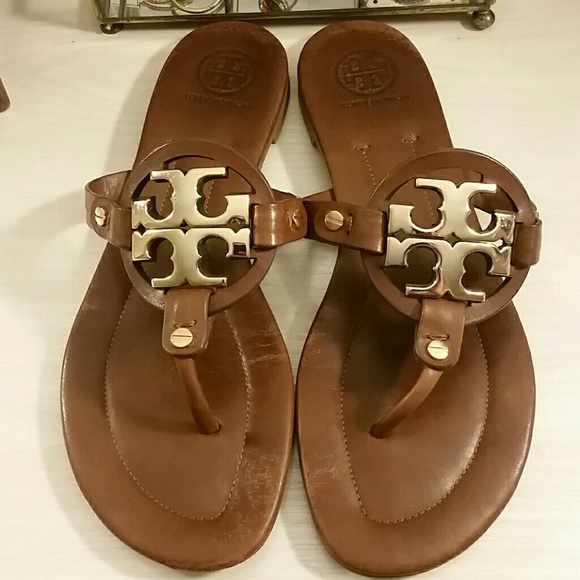 9f7e2c1153b57c Tory Burch Shoes - Tory Burch Miller Sandals in Vintage Vanchetta